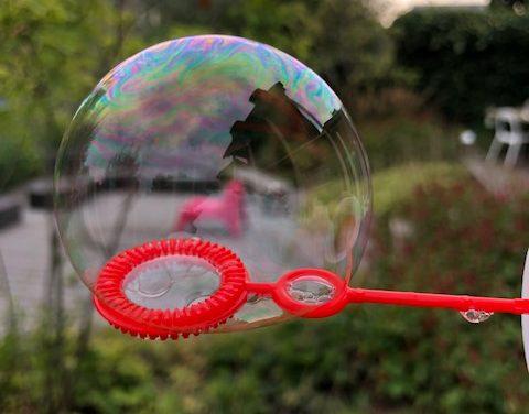 Over bubbels gesproken